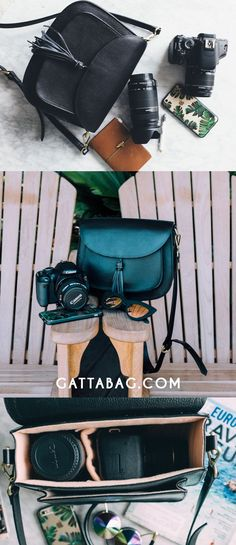 GATTA - Chic Camera bags - Fits DSLR and Mirrorless camera. Camera bag for women | gattabag.com