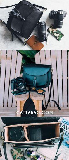 GATTA - Chic Camera bags - Fits DSLR and Mirrorless camera. Camera bag for women | gattabag.com