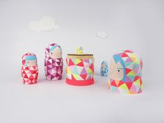 So much of Neon cool!Little Neons Nesting Dolls Little Baby Girl, Little Babies, Children's Place, Whimsical, Baby Shoes, Neon, Dolls, Cool Stuff, Creative