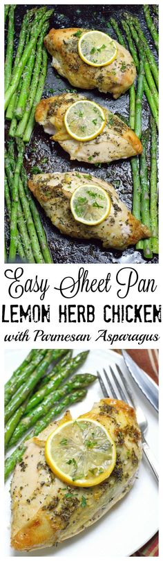 Sheet pan dinners are the ultimate meal. Easy and mess free!