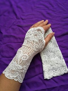 Check out this item in my Etsy shop https://www.etsy.com/listing/525899720/wedding-fingerless-gloves-soft-ivory