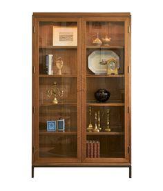 Buy Collector's Cabinet by Maxine Snider Inc. - Made-to-Order designer Furniture from Dering Hall's collection of Traditional Transitional Contemporary Mid-Century / Modern Cabinets.