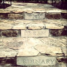 For the steps up to my backyard deck - Why Dream Ordinary?