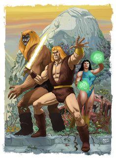 Thundarr the barbarian fan art poster