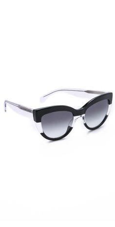 Marc by Marc Jacobs Cat Eye Sunglasses | SHOPBOP
