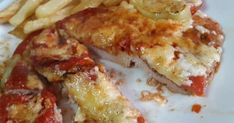 Χοιρινό σνιτσελ στο φούρνο σαν πίτσα. Γρήγορο,εύκολο και πολύ νόστιμο! Cookbook Recipes, Cooking Recipes, Healthy Recipes, Greek Recipes, Cooking Time, Food Dishes, Food Processor Recipes, Bacon, Food Porn