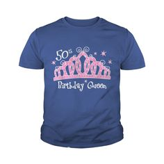 Tiara 50th Birthday Queen Dark T Shirt #gift #ideas #Popular #Everything #Videos #Shop #Animals #pets #Architecture #Art #Cars #motorcycles #Celebrities #DIY #crafts #Design #Education #Entertainment #Food #drink #Gardening #Geek #Hair #beauty #Health #fitness #History #Holidays #events #Home decor #Humor #Illustrations #posters #Kids #parenting #Men #Outdoors #Photography #Products #Quotes #Science #nature #Sports #Tattoos #Technology #Travel #Weddings #Women