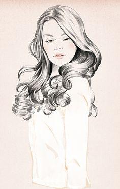 Spanish fashion illustrator Sandra Suy   DENKI-MIRAI, Japanese art licensing agency