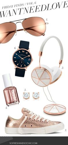 So Fresh and So Chic // #WANTNEEDLOVE // Friday Fashion Finds Vol. 6 - #FRENDS #headphones, wearefrends.com