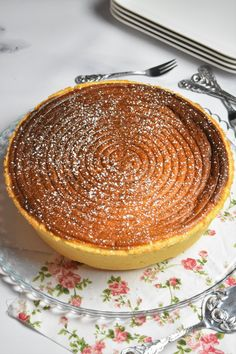 Tarte au fromag blanc alsacienne Camembert Cheese, Pancakes, Dairy, Breakfast, Food, Eclairs, Halloween, Caramel Apple, Chocolates