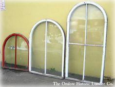 Rounded top windows - just have 1 of the med size left