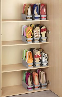 Home Discover Set Schuhhalter für Ballerinas Set of 6 shoe racks for ballerinas Closet Bedroom Bedroom Storage Girls Room Storage Shoe Storage Accessories Organizar Closets Wall Mounted Shoe Rack Garderobe Design Space Saving Shoe Rack Diy Shoe Rack Shoe Storage Accessories, Diy Shoe Storage, Diy Shoe Rack, Closet Storage, Bedroom Storage, Shoe Storage Ideas For Small Spaces, Cord Storage, Shoe Racks, Shoe Storage In Wardrobe