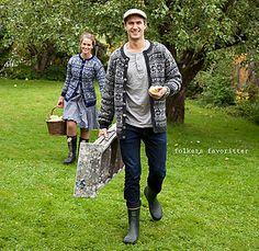 Nordfjord Dame pattern by Lene Holme Samsøe og Liv Sandvik Jakobsen Parts Of A Book, Fair Isle Knitting, Ravelry, Knit Crochet, Bomber Jacket, Hipster, Sweaters, Jackets, Men's Knits