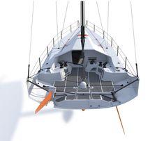 Segelboot / Ocean Racing / mit offenem Heck / Klasse 40 - McConaghy