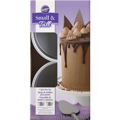 Small & Tall Layered Cake Pan Set