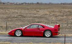 1992 Ferrari F40 at Amelia Auctions.