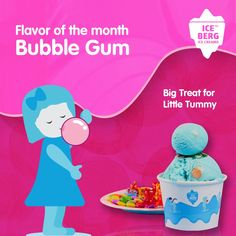 Rich and creamy Ice cream that tastes just like your childhood. Bubble Gum Ice Cream, Bliss, Childhood, Fun, Infancy, Childhood Memories, Hilarious