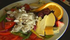 Summer Vegetable Salad with Lump Crab Meat from P. Allen Smith