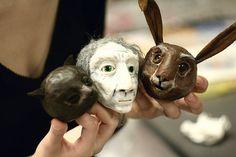 alice puppets, via Flickr.