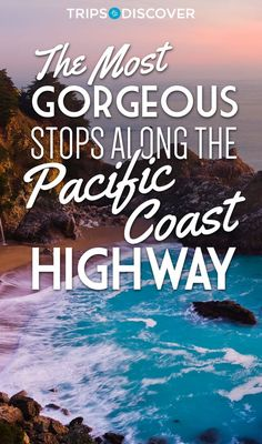 The Most Gorgeous Stops Along The Pacific Coast Highway. Road Trip From San Francisco To Santa Cruz Pacific Coast Highway, Road Trip Usa, West Coast Road Trip, Highway 1 Roadtrip, Highway Road, Ways To Travel, Places To Travel, Places To See, Travel Destinations