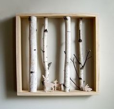 That would be pretty easy and fun Shadow box. That would be pretty easy and fun Shadow box. That would be pretty easy and fun Shadow box. That would be pretty easy and fun Woodland Bedroom, Woodland Theme, Enchanted Forest Nursery, Outdoor Nursery, Woodland Forest, Woodland Nursery Decor, Jungle Theme, Boy Room, Kids Room