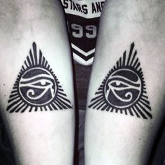50 Eye Of Horus Tattoo Designs For Men - Egyptian Hieroglyph Ink
