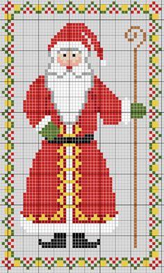It Was A Work of Craft Cross Stitch Freebies, Cross Stitch Charts, Counted Cross Stitch Patterns, Cross Stitch Embroidery, Embroidery Patterns, Santa Cross Stitch, Blackbird Designs, Theme Noel, Crochet Cross