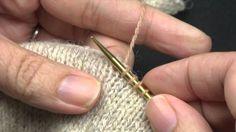 Saml masker op til halskant uden huller/pick up stitches without holes