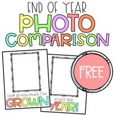 End of Year Photo Comparison