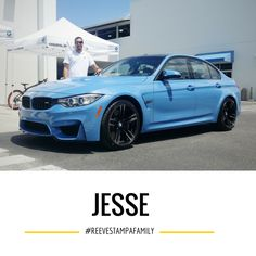 Congrats Jessel! Yaz Marina Blue is one of our favorite colors! Thank you for your business - Steve and the entire Reeves BMW team. BMW M4