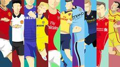 Premier League 2014/2015 Kits by Jalu Andura, via Behance