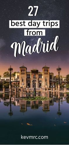 The 27 BEST Day Trips from Madrid Spain Are you going to live in Madrid for a while, and looking for where to escape during the weekend? Or simply visiting Spai. Spain Travel Guide, Europe Travel Tips, Travel Destinations, Italy Travel, India Travel, Travel Hacks, Travel Packing, Travel Essentials, Arizona Road Trip