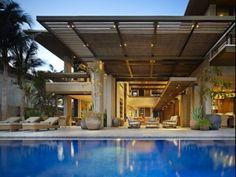 บ้านโมเดิร์นหลังใหญ่ริมหาดในประเทศเม็กซิโก45677