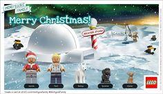Create Custom LEGO Minifigure Greeting Cards! #MinifigureFamily