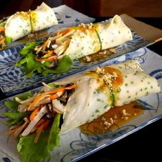 Adora's Box: BAMBOO SHOOT LUMPIA IN CHIVE WRAPPER