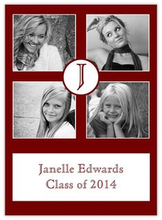 Crimson Stages - Graduation Announcements from CardsDirect