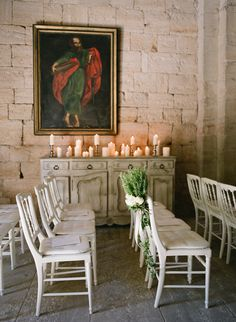 Classic French Chateau Wedding in Provence Chapel Wedding, Mod Wedding, Wedding Ceremony, Chic Wedding, Wedding Bells, Elegant Wedding, Provence Garden, Provence Wedding, Private Wedding