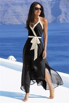 Buy Shape Enhancing Monochrome Maxi Dress from the Next UK online shop £42
