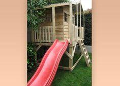 Amazing playhouse on stilts