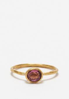 22K, Tourmaline Ring