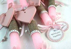 Οι νέες  μας χειροποίητες πασχαλιν έ ς λαμπάδες είναι εδώ.   Δείτε τα νέα μας σχέδια στο www.thelittleshop.gr       Οι πιο ρομαντικές λαμ...