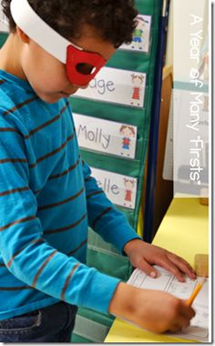 Have your students go on a SUPER WORD HUNT wearing superhero masks to learn the r-controlled vowel sounds.