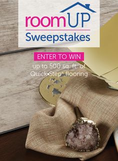 Enter to win free flooring from Quick•Step in the RoomUP Sweepstakes! http://swee.ps/PYufXTSI