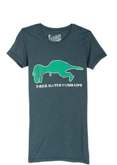The picture on the shirt made me laugh so hard! My dino-loving son needs this. :)