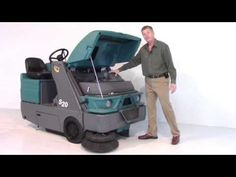 http://www.thesweeper.com/ Rick Schott, President/Owner of Factory Cleaning Equipment, inc gives an overview of the Tennant S20 Riding Floor Sweeper.