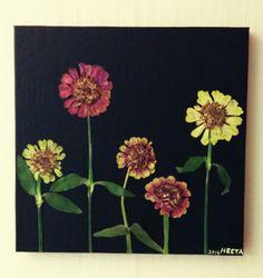 press flower