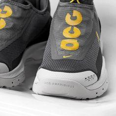 Nike ACG Zoom Air AO Herren-/ Frauenschuh grau / gelb