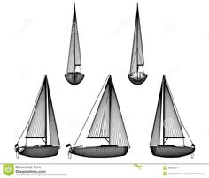 Image from http://thumbs.dreamstime.com/z/motor-boat-sail-art-illustration-flag-side-front-back-view-white-background-39501371.jpg.