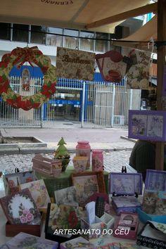 Feira de Artesanato Circuito Rio EcoSol- Praça Saens Penna- dias 24 e25 de outubro de 2017