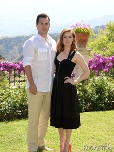 Henry Cavill and Amy Adams attend 'Man of Steel' Photocall during the Taormina Filmfest 2013 at Hotel Timeo on June 15, 2013 in Taormina, Italy.